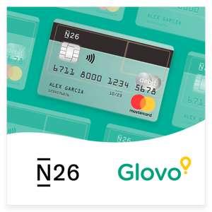 Devolución del 50% en Glovo al pagar con la tarjeta N26