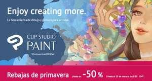 Clip Studio pro/ex al 50% por 5 días.