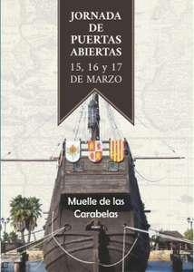 HUELVA: 15, 16 Y 17 DE MARZO - MUELLE DE CARABELAS (GRATIS) + Tarta de 80 Kg y 2x1,5 mt. el sábado