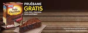 promoción pruebame gratis tarta de chocolate (estilo francés) de Dr Oetker (hasta el 30 de Abril) -reembolso-