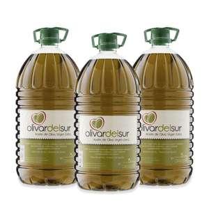 Aceite de Oliva Virgen Extra - Olivar del Sur Garrafa 5L (Caja 3 unidades)