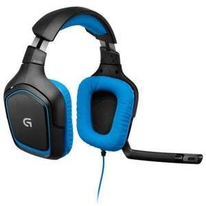 Logitech G430 Gaming Surround Sound 7.1