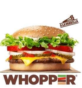 Whopper a 2€ - Burger King