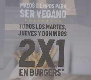 2X1 en hamburguesas en Carl's Jr.