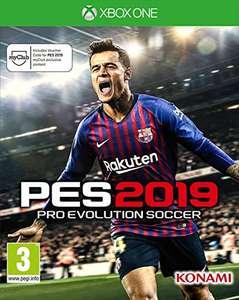 Pro Evolution Soccer 2019 xbox (Fisico)