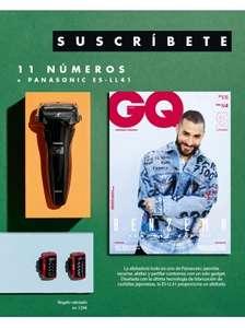 AFEITADORA PANASONIC ES-LL41 + 11 NÚMEROS REVISTA GQ