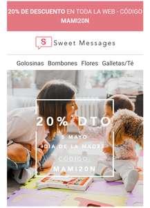 20% de Descuento Sweet Messages