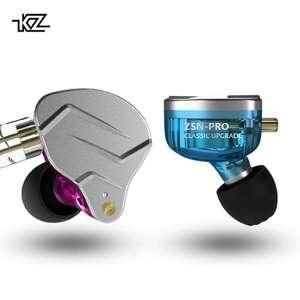 KZ ZSN Pro (Hibrido, 1dd+1ba, modelo 2019) + Caja + Almohadillas espuma