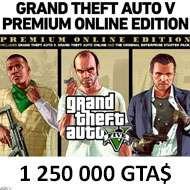 GTA V: Premium Online Edition +  Criminal Enterprise Starter Pack
