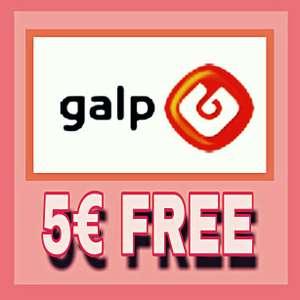 5€ gasolina estaciones GALP GRATIS