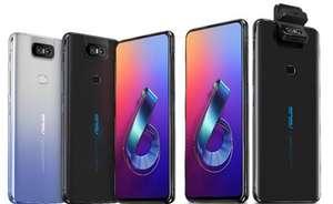ASUS Zenfone 6 Smartphone de 6,4 pulgadas con Pantalla Completa Octa-core con Cámara Flip - Negro