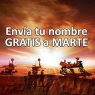 Envía gratis tu nombre a Marte 2020
