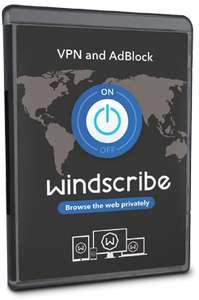 VPN Windscribe  Licencia 1 Año GRATIS