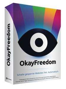 OkayFreedom Premium VPN (Licencia gratuita 1 año)