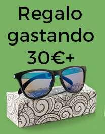 Gafas de sol gratuita por compras superiores a 30€