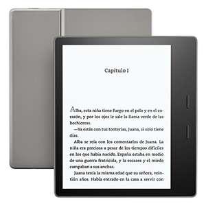 Kindle Oasis - Resistente al agua, 8 GB, wifi (9.ª generación, modelo anterior)