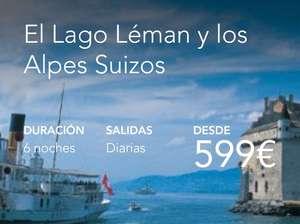 EL LAGO LÉMAN Y LOS ALPES SUIZOS. VUELOS+HOTELES+PASE PARA TRENES, FUNICULARES Y BARCOS DESDE 599€ PERSONA.