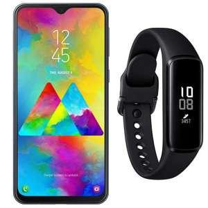 Samsung Pack Galaxy M20 4/64GB Charcoal Black + Galaxy Fit e Pulsera de Actividad