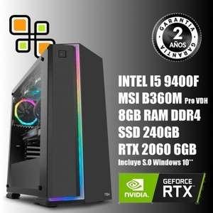 PC Gaming I5 9400f y RTX 2060 6gb