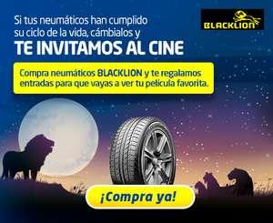 Entradas de Cine Gratis al comprar neumáticos Blacklion en Euromaster