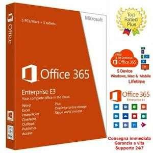 Office 365 Pro Plus 2019 (5 equipos)