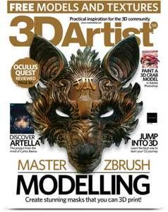 Suscripción 5 números My Favourite Magazines Edge, 3d Artist, Imagine Fx, 3d World , Computer Music...etc