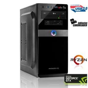 GAMING PC AMD Ryzen 5 2600 6x3.40GHz | 8GB DDR4 | GTX 1660 6GB | 240GB HDD