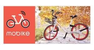 3 desbloqueos totalmente gratis para Mobike en Madrid