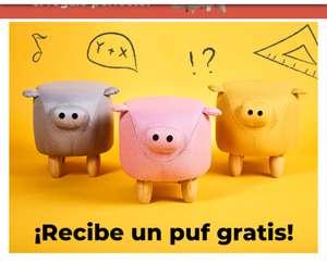 PUF gratis al gastar 200€ en Beliani