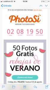 50 fotos por solo 3'9€