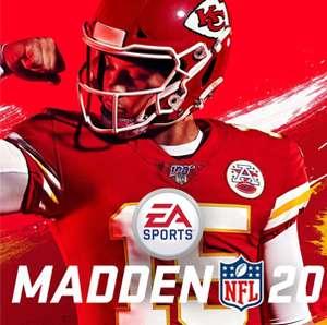 Juega gratis Madden NFL 20 (Xbox, EA, PS4)