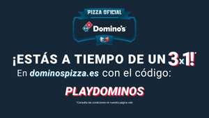 3x1 en Domino's Pizza online