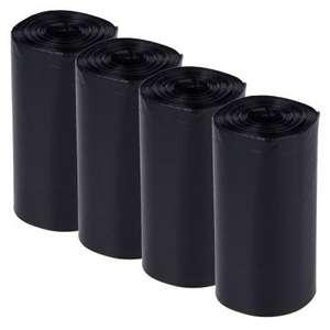 800 bolsas negras heces para perro