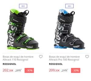 Hasta - 30% en botas de esquí  Rossignol