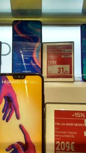 Huawei P smart Z + cheque ahorro 31,35 (Carrefour Erandio - Vizcaya)