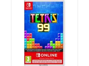 Tetris 99 + Suscripción Anual de Nintendo Switch Online