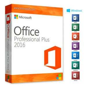Licencia Office 2016 Profesional Plus