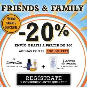 20% De Descuento en Kiehl's (Friends and Family)