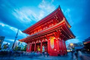 Vuelo a Tokio en puente de Diciembre 179€ por trayecto