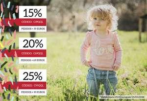 ¡Hasta 25% de Descuento este fin de semana! Moda Infantil Quiquilo
