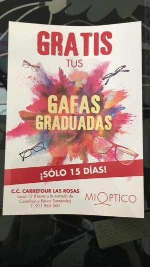 Gafas graduadas gratis