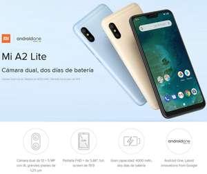 Xiaomi Mi A2 Lite Global Version (8-Core S625, 4GB+64GB)