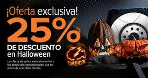 OFERTÓN de Halloween en AutoDoc.es 25% de descuento