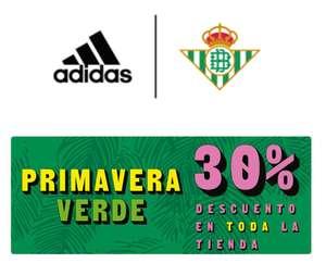 30% descuento tienda oficial Real Betis Balompie