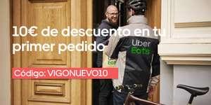 10€ DESCUENTO EN UBEREATS VIGO