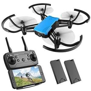 REDPAWZ R020 - Drone con cámara 720p y 2 baterías