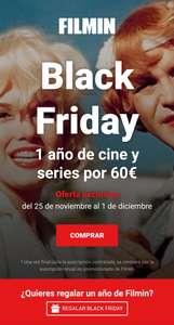 Black Friday: Filmin, suscripción anual