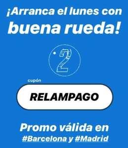 1€ gratis en movo (Madrid y Barcelona)