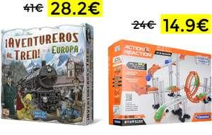 Aventureros al tren versión Europa solo 28.2€