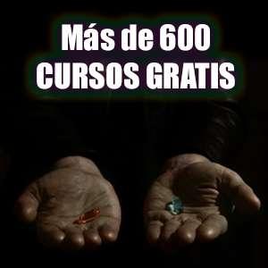 Más de 600 cursos gratis (Udemy, Español)